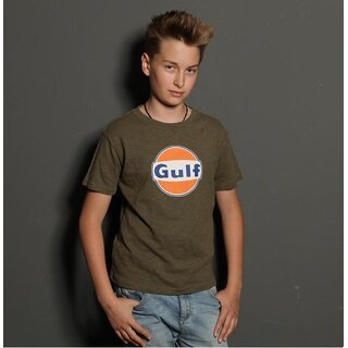 Grandprix Originals Kid Gulf Shirt olive