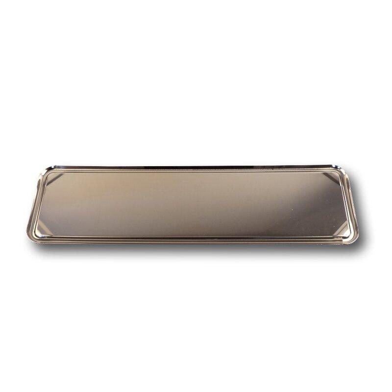 kennzeichenhalter 46cm edelstahl mit schutzfolie 16 95. Black Bedroom Furniture Sets. Home Design Ideas